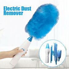 Electric Duster 360 Degrees Cleaning Motorized Spin Brush Wall Window Dust Mop