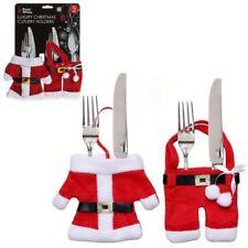 Santa Claus Felt Christmas Table Cutlery Holders