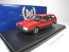 VOLKSWAGEN PASSAT VARIANT GT SYNCRO 1985 1/43 BOS MODELS (RED)