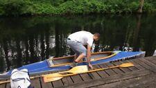 Faltboot Kolibri mit Motor Tümmler und Zubehör