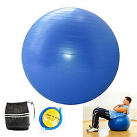 YOGA BALL EXERCISE Balance 65cm Fitness Stability Pilates Gym Anti Burst & Pump