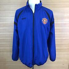 Manchester United MUFC Soccer Windbreaker Jacket English Premier League Men's L