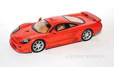 1/43 SALEEN S7R S7 R DeAgostini SUPERCARS DIECAST MODEL CAR En vitrina