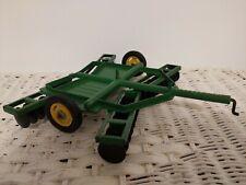 1/16 Ertl Farm Toy  John Deere Disk With Metal Cast Wheels