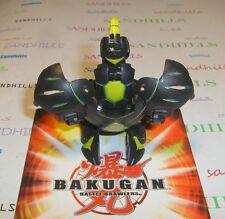 Bakugan Aranaut Black Darkus Gundalian Invaders DNA 720G & cards