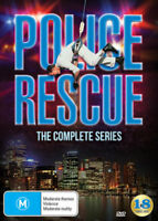 POLICE RESCUE - THE COMPLETE SERIES (18 disc set)   DVD - UK Compatible -sealed