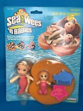 Vintage Kenner Sea Wees Sandy Mermaid Doll Baby Star Comb Lilly Pad RARE