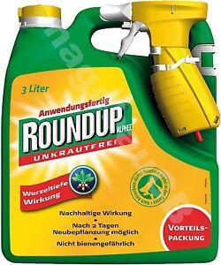 Roundup Alphee 3L Unkrautfrei Celaflor Unkrautvernichter Unkrautex gegen Unkraut