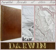 1839*CHARLES DARWIN*PARALLEL ROADS OF GLEN ROY*LOCHABER*SCOTLAND*GEOLOGY*1st ED*