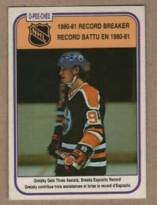 1981-82 Wayne Gretzky Hockey O-Pee-Chee card #392 Nrmint-Mint  Fresh Pack  4.99$