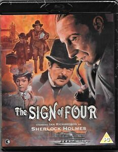 Sherlock Holmes - The Sign of Four Blu Ray Region B Includes Registered Post