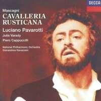 Pietro Mascagni - Cavalleria Rusticana Gianandrea Gavazzeni Luciano Pavarotti CD