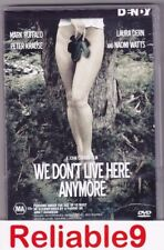 Naomi Watts+Mark Ruffalo - We don't live here anymore DVD Region4 - 2004 Warner