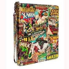 Marvel Black Retro Comic Strip iPad Case Cover Tablet Gift for Kids 2 3