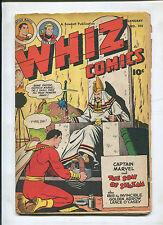 WHIZ COMICS #105 (4.5) THE SON OF SHAZAM!