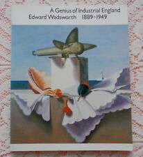 EDWARD WADSWORTH A GENIUS OF INDUSTRIAL ENGLAND ART EXHIBITION BOOK CATALOGUE
