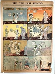 LITTLE NEMO IN SLUMBERLAND Winsor McCay - December 30, 1906 New Year's Sunrise