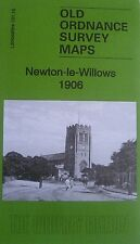 Old Ordnance Survey Map Newton-le-Willows Lancashire 1906  Sheet 101.1 Brand New