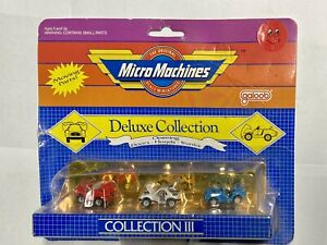 1988 Micro Machines DELUXE Collection III Collection 3  , Sealed