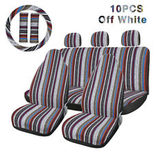 10pcs Saddle Blanket Durable Bucket Seat Cover Protector Pad Fit For Car Auto
