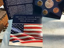 2007 US Mint Annual Uncirculated Dollar Coin Set (Unsealed)