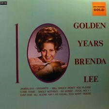 BRENDA LEE 10 Golden Years LP