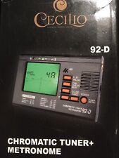 Cecilio Chromatic Tuner + Metronome 92-D