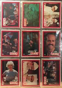 Vintage Set of 24 M*A*S*H the TV Series Trading Cards & 1 Wax Wrapper Issued1982