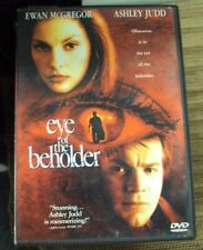 EYE OF THE BEHOLDER DVD early-00's thriller Ewan McGregor Ashley Judd K.D. Lang
