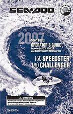 Sea-Doo Owners Manual Book 2007 150 SPEEDSTER & 180 CHALLENGER