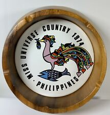 Vintage 1974 Philippines Miss Universe Country Mid Century Astray