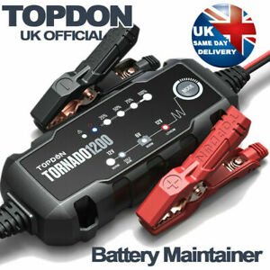 NEW UPDATE! 2X Faster 80Ah Car Battery Charger Automatic Quick 12v Lithium-ion