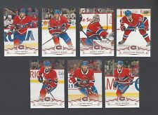 2018-19 Upper Deck Montreal Canadiens Team Set 7 cards Brand New Original Pack