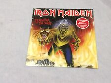 """Vintage IRON MAIDEN THE NUMBER OF THE BEAST original 7"""" Record LTD. new"""