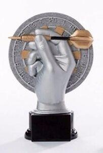 Dart-Pokal (Resin-Figur) mit Wunschgravur (39123)
