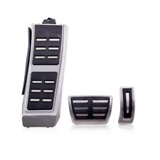 Kit Pédales Pédalier Alu Aluminium Brossé Audi Q3 Boîte Auto