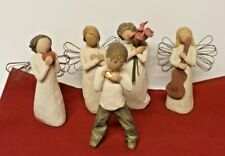 Willow Tree Figures: Bloom, Heart, Song, Rememberance, & Boy Lot Of 5 Figures