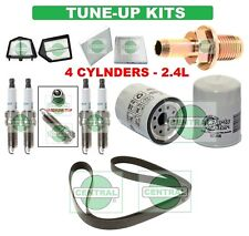 TUNE UP KITS 10-11 HONDA CRV: BELT PCV VAL. SPARK PLUG; AIR, CABIN & OIL FILTERS