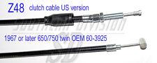 US clutch cable 650 750 triumph 1967-82 Kupplungszug hoher lenker 60-3925 D1993