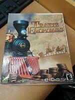 Trade Empires PC Video Game Big Box SEALED Eidos