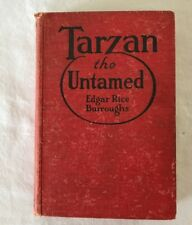 Vintage Tarzan the Untamed by Burroughs 1920 Hardcover Children's Book