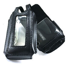 OEM Verizon Nokia 7205 Leather Case - Black  NEW