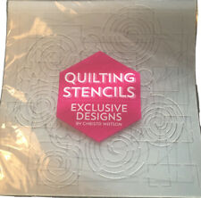 Quilting Stencils Exclusive Designs By Christa Watson
