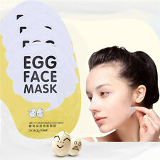 New 1pc Facial Skin Care Face Mask Egg Essence Moisture Face Mask Sheet Pack