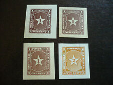 Stamps - Liberia - Envelope Cut Squares