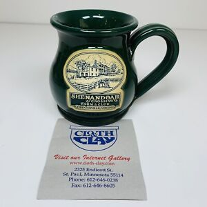 Shenandoah Crossing Farm Club Gordonsville VA Coffee Mug DENEEN Pottery NWT