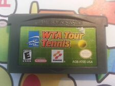 Nintendo NES  GAMEBOY ADVANCE WTA TOUR TENNIS FREE POSTAGE
