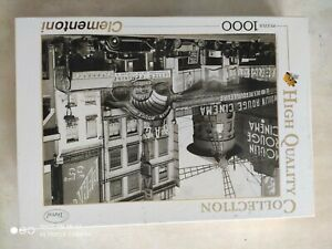 """Puzzle Clementoni 1000 pièces «Le Moulin Rouge"""" neuf"""