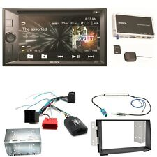 Sony XNV-KIT651 Navigation USB MP3 Bluetooth Touchscreen Einbauset für Kia Venga