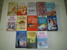 13 Thick Paperback Romance Novels 1983 - 2014 Macomber Sparks